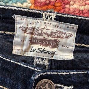 Big Star LIV Skinny Jeans Size 28 R